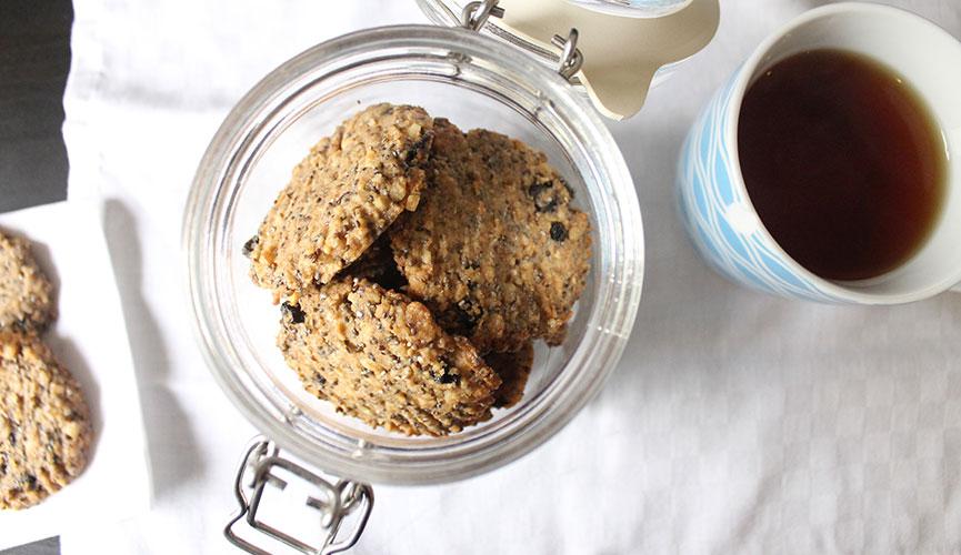 Walnut Maple Cookies