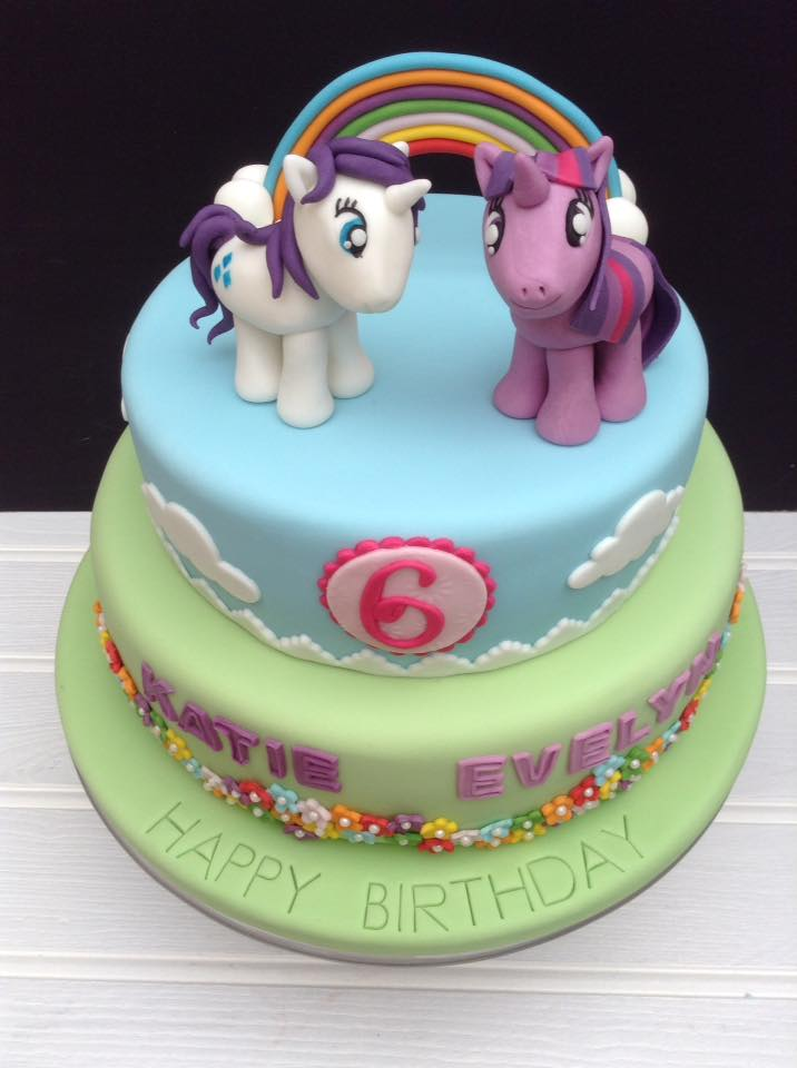 My Little Pony Cake For A Six Year Old S Birthday Party