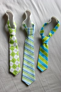 Sewing a Cheap Baby/Boys Neck Tie - Neck Tie Patterns ...