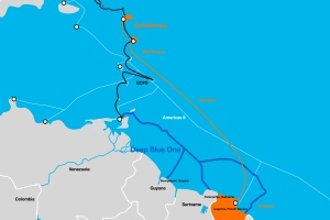 Orange signs a partnership agreement to extend Digicel's deep blue One  submarine cable with a leg to French Guiana.   VanillaPlus - The global  voice of Telecoms IT