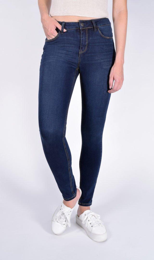 242a08f4eeb Dark Wash Mid-Rise Butt Shaper Jeans - Vanilla Star Jeans