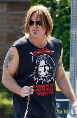 BILLY RAY CYRUS TATTOOS PICTURES IMAGES PICS PHOTOS OF HIS TATTOOS