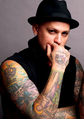 BENJI MADDEN TATTOOS PICTURES IMAGES PICS PHOTOS OF HIS TATTOOS