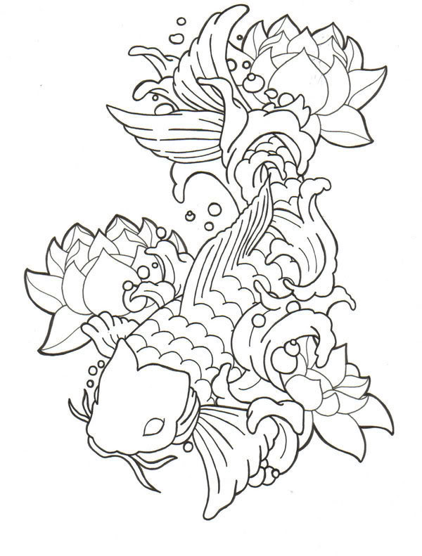 KOI PICTURES, PICS, IMAGES AND PHOTOS FOR YOUR TATTOO