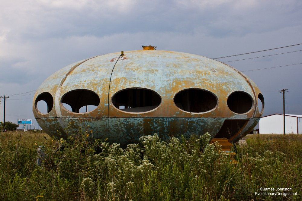 Futuro House in Royse City, Texas