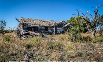 Abandoned Farm House Near Hamlin, Texas