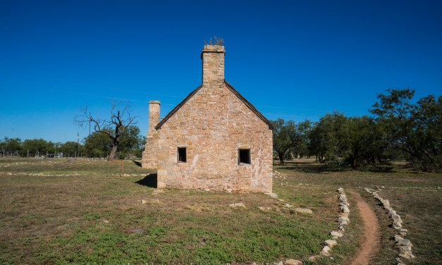 Fort Phantom Hill in Jones County, Texas