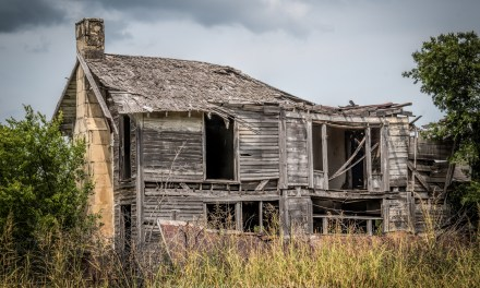 The Old Wheeler House near Honey Grove, Texas
