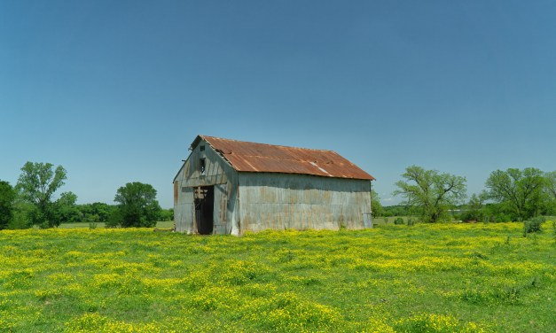Old Barn Near Denison, Texas