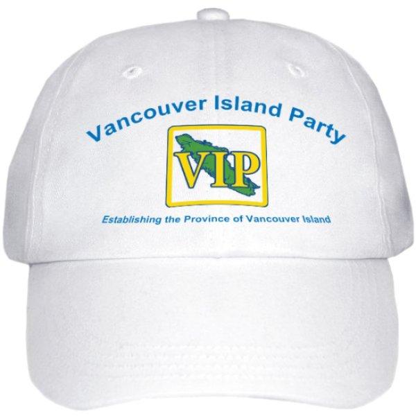VIP White Cap Front