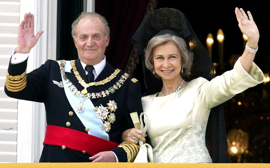 EL Rey Juan Carlos y la Reina Sofia