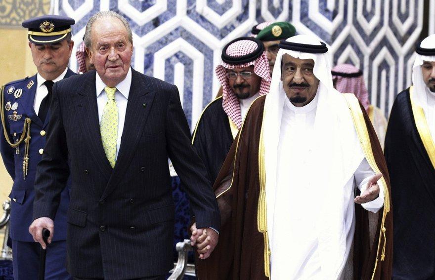La gran amistad del rey Juan Carlos junto al Rey de Saudi Arabia