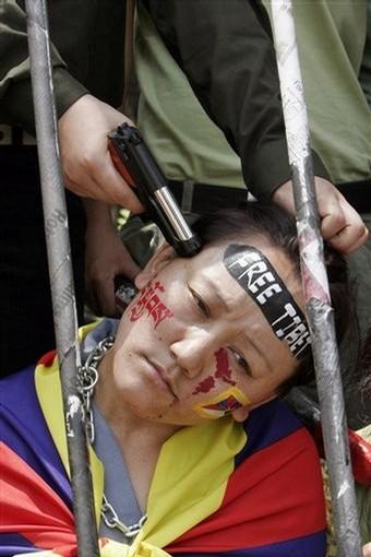 Brutal represion en Tibet