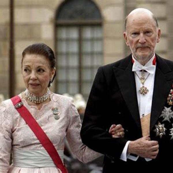 SSMM El Zar Simeon II de Bulgaria y la Zarina Margarita