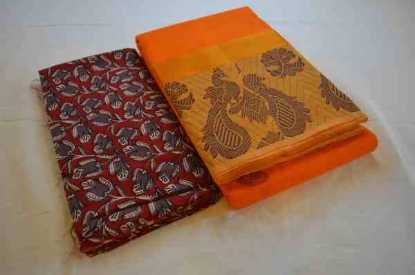 Chettinad Handloom cotton sarees.