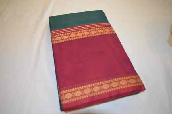 Chettinad Handloom Cotton Sarees