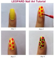 simple effective nail art