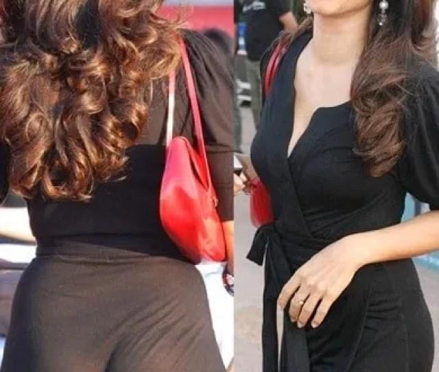 Tanisha Embarassing Bollywood Actresses Wardrobe Malfunction Pictures