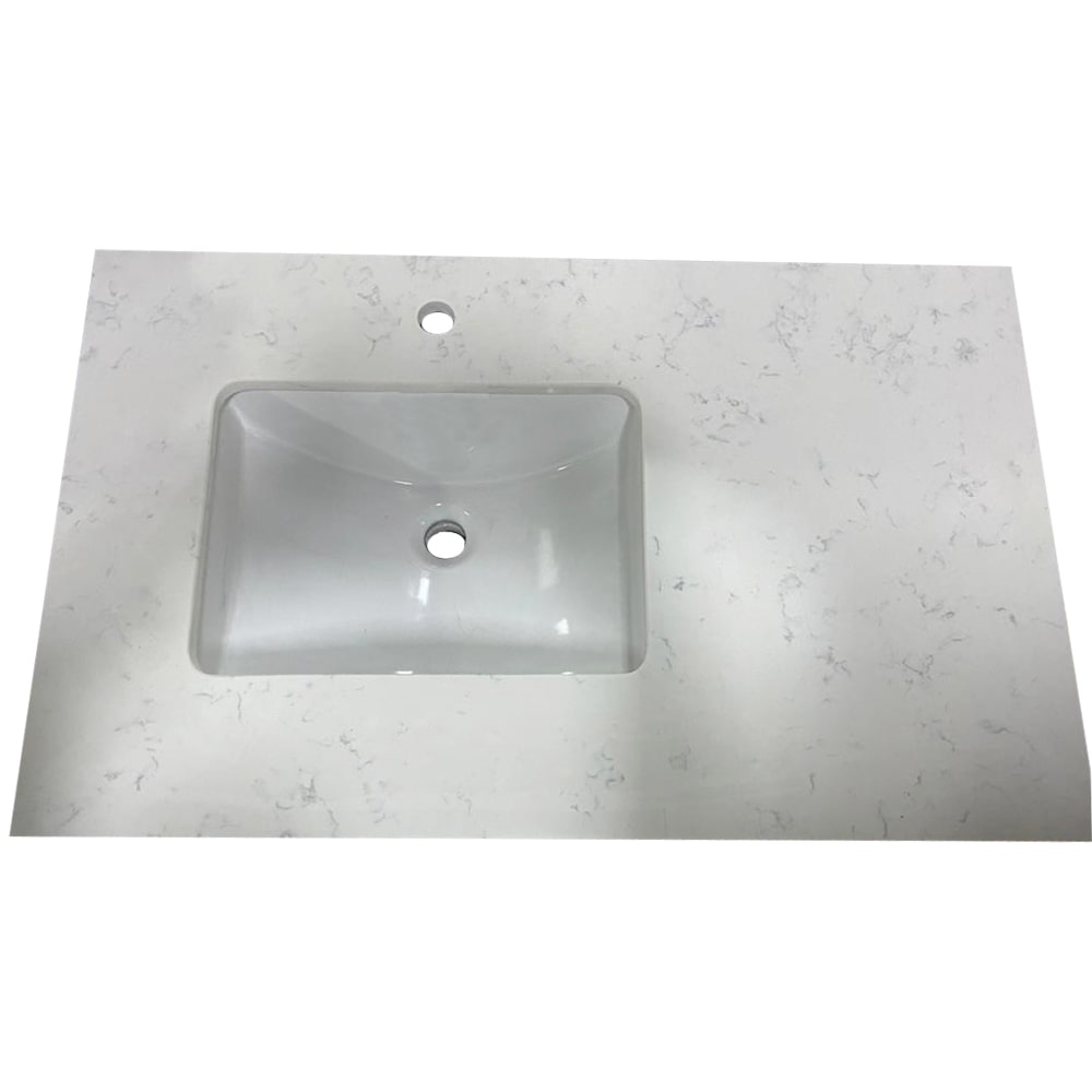 imperial carrara bathroom vanity counter top marble 72 inch undermount double sink single hole for faucet thickness 3 4 inch