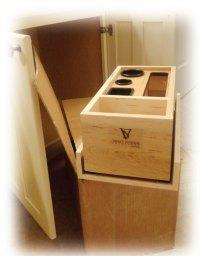 Easy Appliance Organization - Vanity Storage Solutions