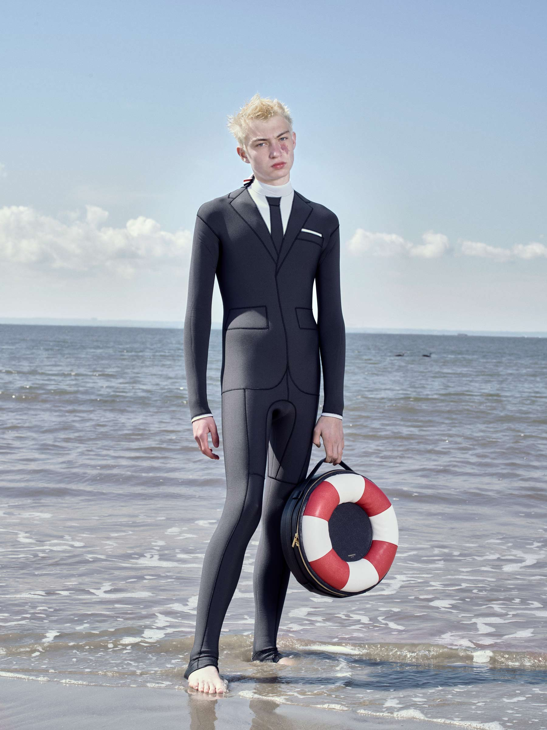 Thom Browne Watersuits Dive Into Document Journals Surf League  Vanity Teen