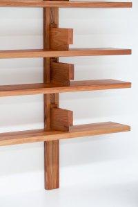 Pierre Chapo wall mounted book shelves - Vanlandschoote