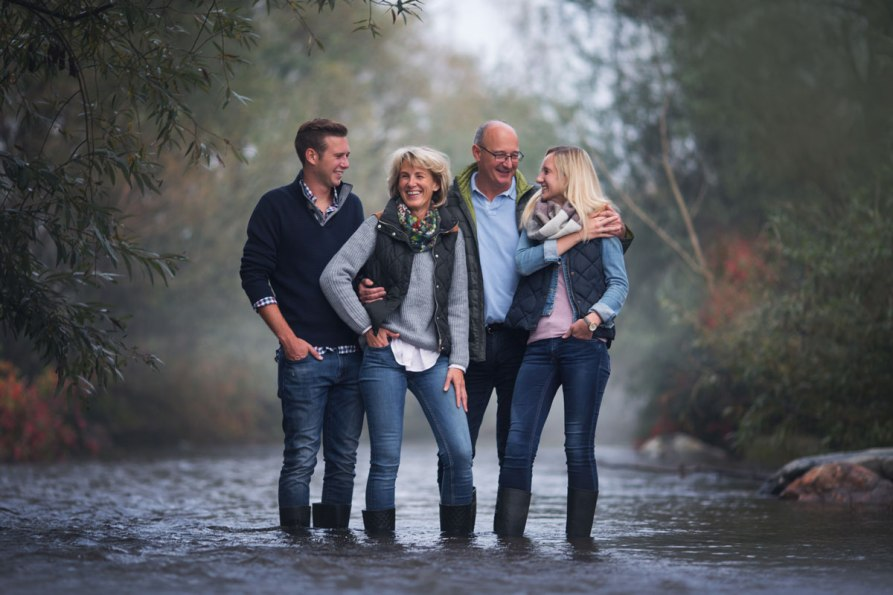 Outfit Ideen für Familien-Fotoshooting