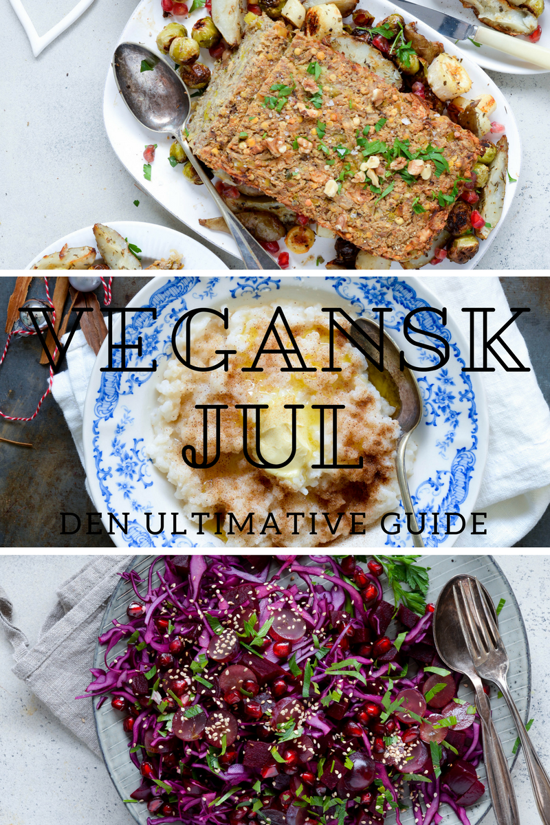 Den ultimative guide til den veganske jul
