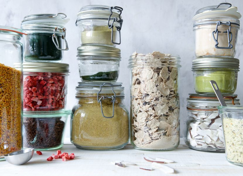 Smoothieboosters og toppings
