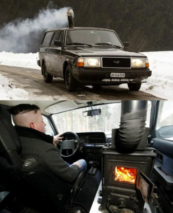 verwarming auto