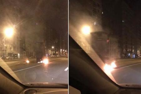 Lidar Luik in brand