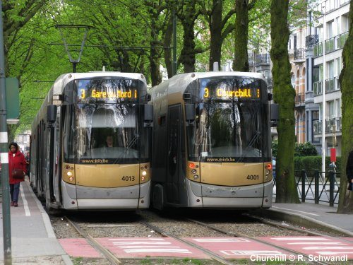 Tram Brussel