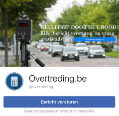 overtreding facebook fb