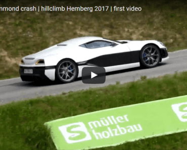rimac concept one richard hammond crash