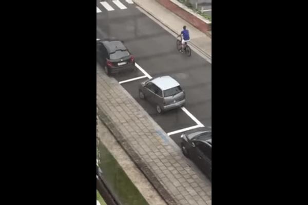 brommobiel parkeren moeilijk