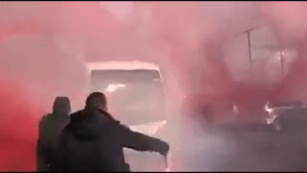 bus kvk lijn kortrijk supporters