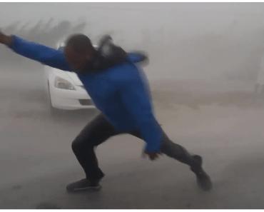 storm irma orkaan wind meten weerman