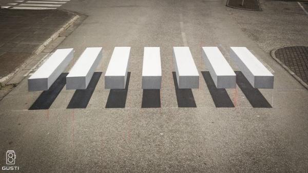 zebrapad optische illusie ijsland 2