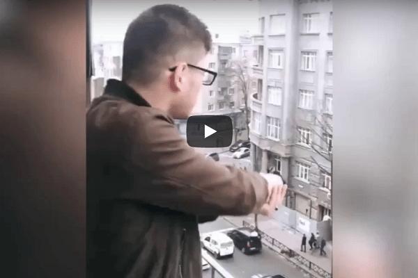 schieten terras oekraïne