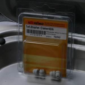 Teflon dopjes kookrooster gasvuur