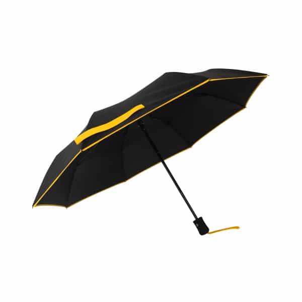 Opvouwbare paraplu ECO Petit Bordure - Geel