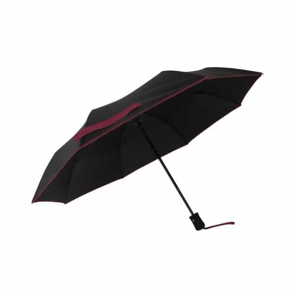 Opvouwbare paraplu ECO Petit Bordure - Paars