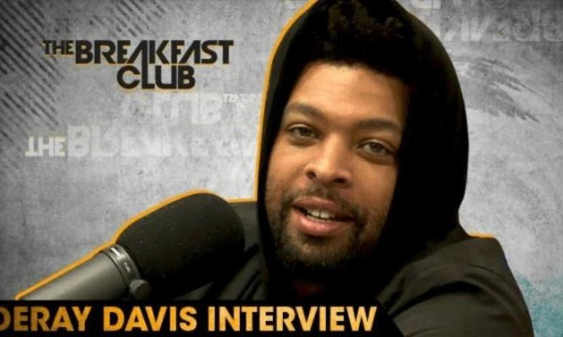 DeRay Davis Talks Living w/2 Girlfriends In The Same House w/The Breakfast Club