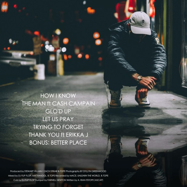TOPE - Some Things Gotta Change [EP Tracklisting]