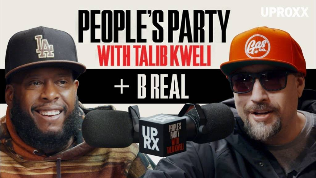 B Real (of Cypress Hill) On 'People's Party With Talib Kweli'