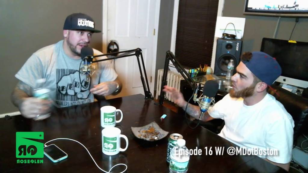 M-Dot (@MDotBoston) Interview On The Rose Glen (@RoseGlenEnt) Podcast