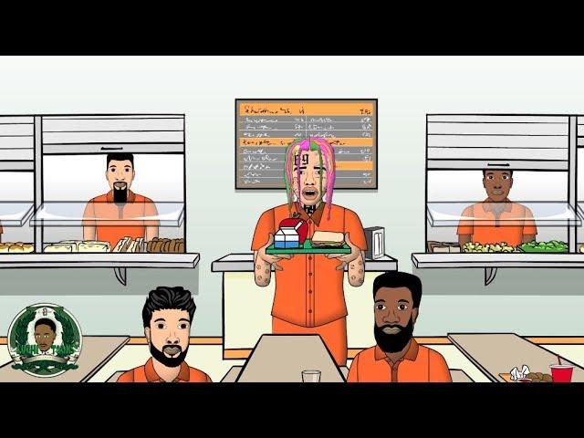 Video: Tekashi69 (6ix9ine) feat. Bill Cosby - Im Stoopid [Cartoon Parody]