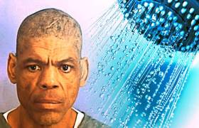 50-year-old Black Florida inmate Darren Rainey before he was murdered by racist prison guards