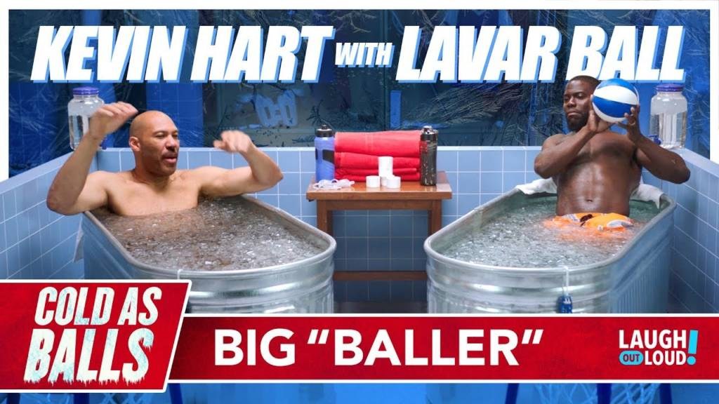 Lavar Ball & His Least Favorite Son On Kevin Hart's 'Cold As Balls'