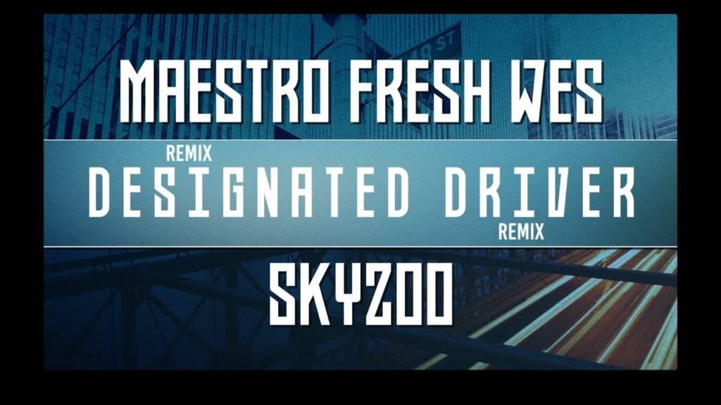 Watch The Lyric Video For Maestro Fresh Wes & Skyzoo's 'Designated Driver' (@MaestroFreshWes @Skyzoo)